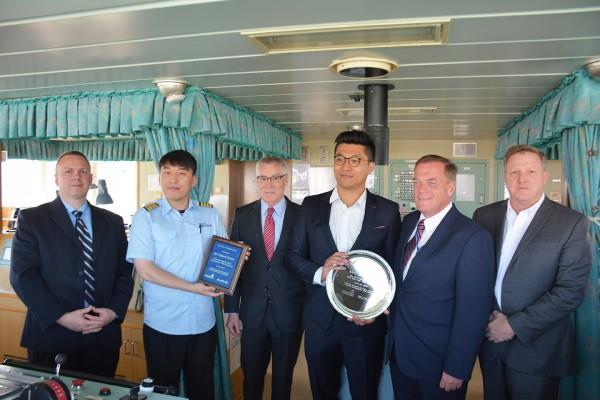 PhilaPort's new automobile berth receives first ro-ro vessel