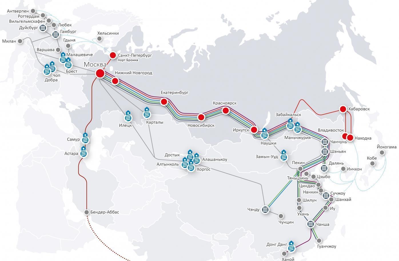 Russia's slice of the Silk Road | Article | Automotive Logistics