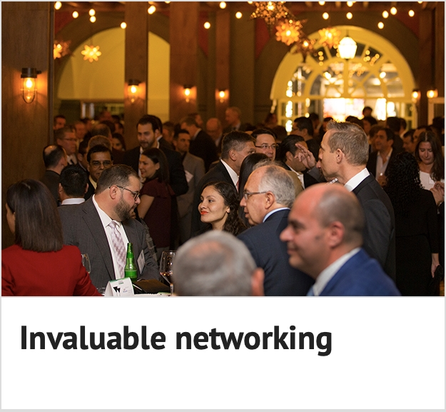 Invaluable networking